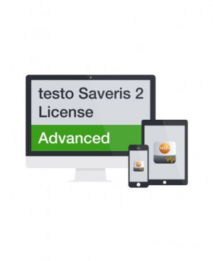 Testo 0526 0735 Saveris 2 Advanced Cloud License, 12-Months-
