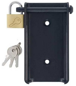 Testo 0554 1702 Wall Holder with Padlock for Testo 175-