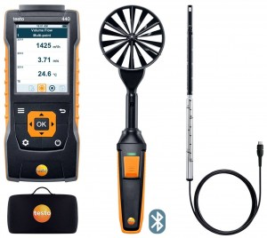 Testo 440 Air Flow Combo Kit 1-