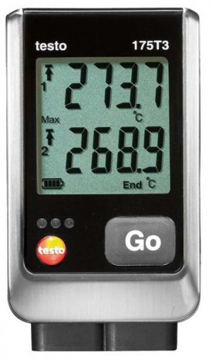Testo 175 T3 2-Channel Temperature Data Logger with 2 external TC-
