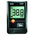 Testo 174H Temperature/Humidity Data Logger, 2-Channel w/ Wall Holder & Batteries-