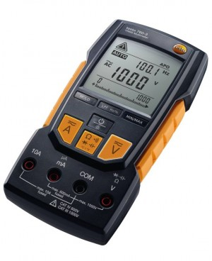 Testo 760-3 Digital Multimeter with Capacitance, TRMS, LPF, Auto Setup, Duty Cycle, Temperature, 1000V-