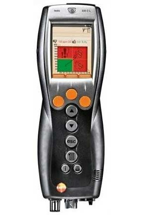 Testo 0632 3307 00 330-2G LL Combustion Analyzer O2, CO, Meter Only-