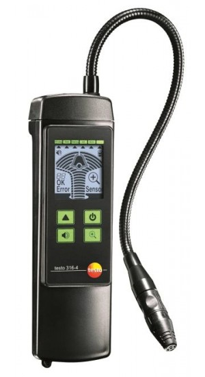 Testo 316-4 Leakage Detector for Refrigerants, 3g/a-