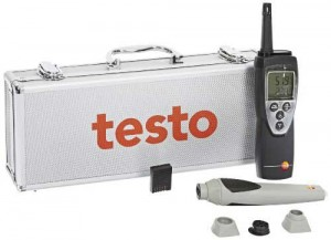 Testo 400563 6251 625 Thermo-Hygrometer Remote Probe Kit-