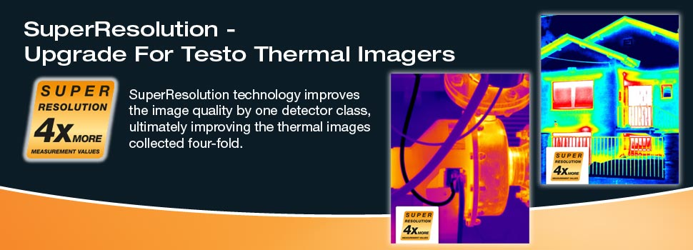 Testo SuperResolution Upgrade for Testo Thermal Imagers